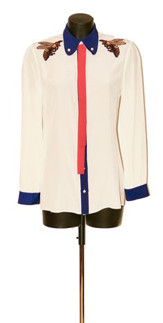 GUCCI Blouse Product Page, Signature Style, Dressing, Gucci, Brand New, Elegant, Vintage, Ideas, Tops