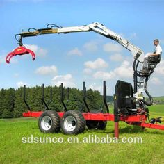 tractor trailer,farm tractor log loader with trailer
