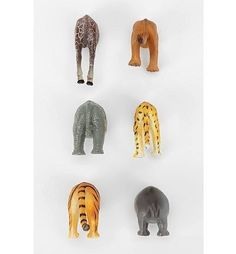 Animal Butt Magnets. YES!!