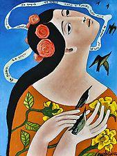 """Enamorada by Armando  Adrian-Lopez (Giclee Print) (19"""" x 13"""")"""