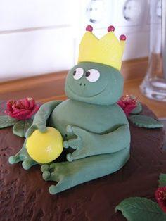 Froschkönig-Cupcakes
