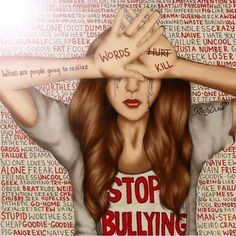 "So I just watched a movie called ""Cyberbully"" I think everyone should go watch it! It is an amazing story about how words do hurt... And that freedom is the right to do kind stuff not to hurt people"