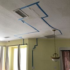 Repairing Ceiling Water Damage In 3 Steps Diy Mobile