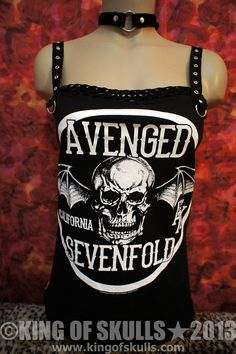 Custom Size Avenged Sevenfold AX7 99 DIY Tank Top by kingofskulls, $59.99