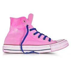 b8fd1400c2f2 Converse Limited Edition Shoes Chuck Taylor All Star Hi Neon Fuchsia Canvas  LTD Sneakers Jojo Siwa