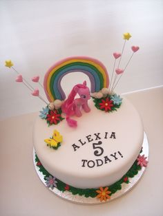 ... My little pony cake, My little pony birthday and My little pony party