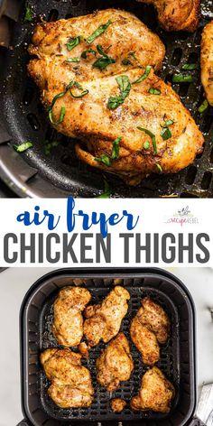 Healthy Chicken Casserole, Easy Chicken Recipes, Casserole Recipes, Simple Recipes, Delicious Recipes, Air Fryer Dinner Recipes, Recipes Dinner, Dinner Ideas, Popular Recipes