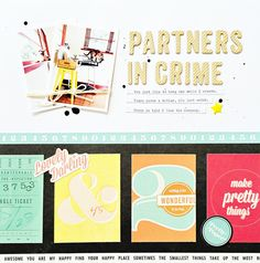 Partners in Crime by Adow at @studio_calico