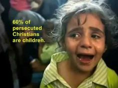 Persecution of Christians Across - YouTube How very brave are the Muslim religion that harm and kill women and children.  They are cowards. !!
