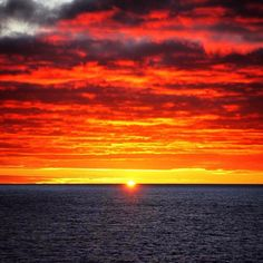 Sunset over the mighty Drakes Passage on our way to ANTARCTICA!   ••••••••••••••••••••••••••••••••••••••••• WorldlyNomads.com •••••••••••••••••••••••••••••••••••••••••