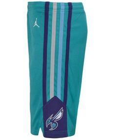 Nike Charlotte Hornets Icon Swingman Shorts, Big Boys (8-20) - Blue XL