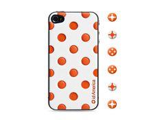 id America Cushi Dot iPhone 4s Case White #danimobile