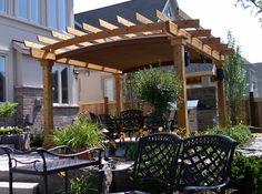 cantelevered pergolas with shade cloth | Check out our installations and get inspired by the endless ...