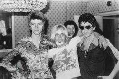 David Bowie, Iggy Pop and Lou Reed