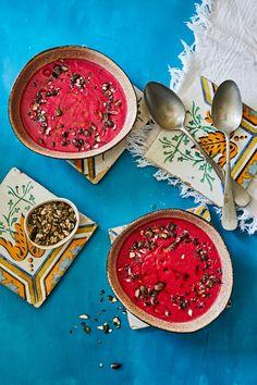 Erdélyi céklakrémleves recept | Street Kitchen Baking Recipes, Vegan Recipes, Plates, Tableware, Cooking, Soups, Cooking Recipes, Licence Plates, Kitchen