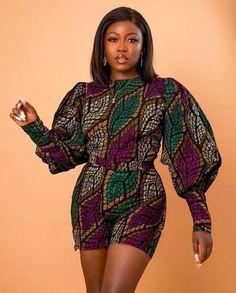 African Fashion Ankara, Latest African Fashion Dresses, African Print Fashion, Africa Fashion, Women's Fashion Dresses, African Prints, African Fashion Traditional, Traditional Dresses, Short African Dresses