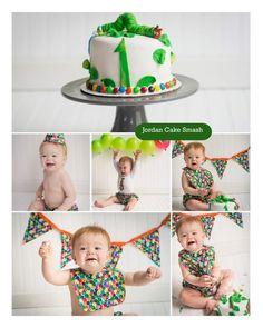 Jordan's cake smash pictures