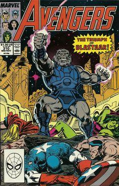 Negative Zone villain Blastaar is a blast! Written by John Byrne, drawn by somebody else.