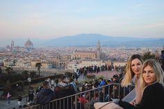 Piazzale Michaelangelo always lookin good #florence #abroadadventures #travel #italy