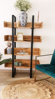 Ladder Bookcase, Follow Me On Instagram, Bedroom Decor, Crafty, Living Room, Home Decor, Decoration Home, Room Decor, Home Living Room