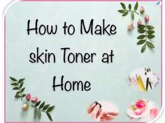 A face toner is a quick, absorbing liquid that helps to remove excess dirt, traces of oil and makeup correct and balance the pH of your skin, and helps contr. Cleanser For Oily Skin, Skin Toner, Moisturizer, Homemade Face Toner, Toner For Face, Beauty Tips For Face, Beauty Hacks, Aloe Vera Gel, Your Skin