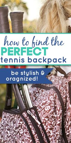 Having a tennis backpack can help you stay organized when you are going to tennis practice, playing a match with a friend, or playing in a tennis tournament. These tennis bags have plenty of room for balls, snacks, and some even have a separate compartment for your tennis shoes! Tennis Bags, Tennis Tournaments, Cool Backpacks, Bag Organization, Cute Woman, Tennis Racket, Separate, Balls, Snacks