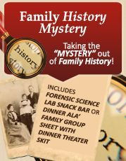 """Family History Mystery: Taking the """"MYSTERY"""" out of Family History! — LDS Enrichment Cottage  Relief Society   RS Workshops"""