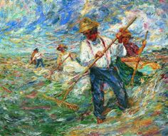 Emil Nolde (1867-1956) Harvest Day, 1905 Oil on canvas - 73 x 92 cm Geneva, Private Collection