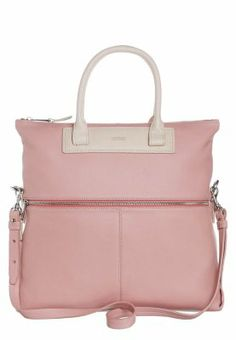 BRIGITTE 21 - Summer schoppet Full leather on säle on Zalando f/w2013/14 Handtasche - rosa/nude