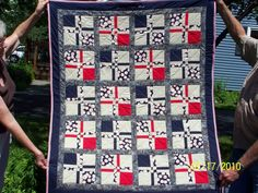 Pic of Issac's baseball quilt - Quilting Forum - GardenWeb