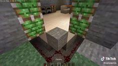 Minecraft Redstone Creations, Easy Minecraft Houses, Minecraft House Tutorials, Minecraft Room, Minecraft House Designs, Amazing Minecraft, Minecraft Tutorial, Minecraft Crafts, Minecraft Furniture