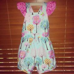 Boo Overalls - Pretty Little Things - custom on Little Goose facebook page