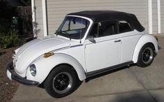 1973 VW Convertible Super Beetle - $ 4900 (Santa Barbara)