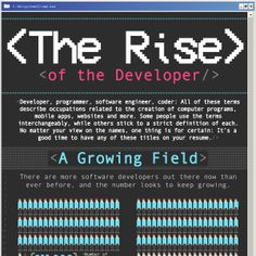 The Rise of the Developer