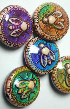 Colourful mood beads