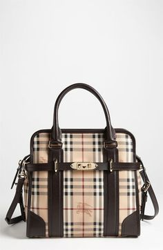 Burberry 'Haymarket Check - Minford' Satchel