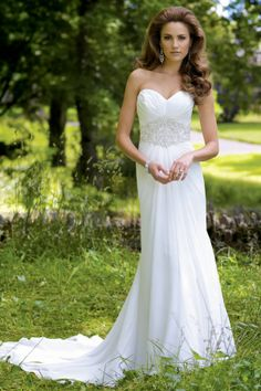 Llamativos vestidos de novia | Colección David Tutera for Mon Cheri 2014