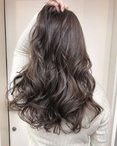Add on some sass, add on some waves, add on some curls! Look more dressed up and feminine with our perm series! Dyed Hair Ombre, Ombre Hair Color, Brown Hair Colors, Korean Long Hair, Korean Hair Color, Permed Hairstyles, Straight Hairstyles, Dusty Rose Hair, Medium Hair Styles