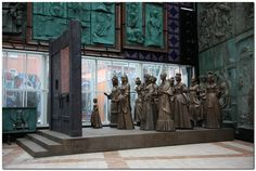 Wives of the Decembrists. Gate of Fate. Sculptural composition by Zurab Tsereteli. Imperial Russia, Research Projects, Geography, Prison, Art Gallery, Moscow Russia, Sculpture, History, Places