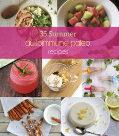 35 Summer Autoimmune Paleo Recipes. #aip #paleo