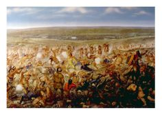 Custer's Last Stand, General George Armstrong Custer at the Battle of Little Big Horn, 1876.