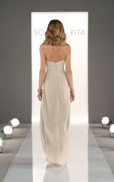 8322 Long Bridesmaid Dresses by Sorella Vita