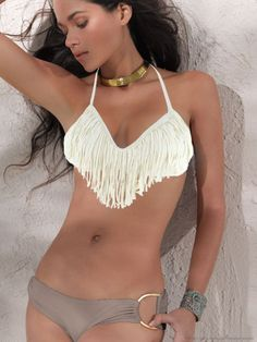 Mimfor Womens Bohemia Print Swimsuit Swimwear Bathing Monokini Push Up Padded Bikini