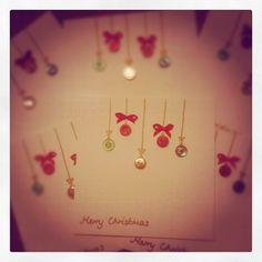 Handmade Christmas Cards - done.