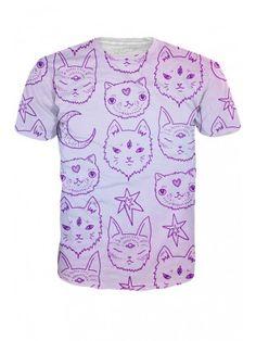 Unisex Kitty Mystics T-Shirt