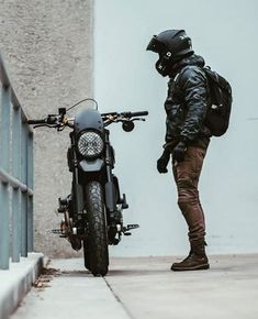 Look at a few of my best builds - unique scrambler motorcycles like this Cafe Racer Motorcycle, Moto Bike, Motorcycle Style, Motorcycle Helmets, Motorcycle Accessories, Moto Ducati, Motorcycle Quotes, Cafe Bike, Cafe Racer Bikes