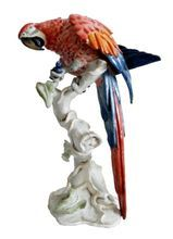 Rosenthal Germany porcelain parrot figurine
