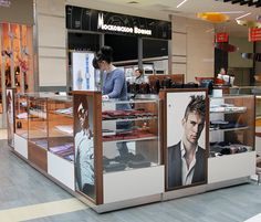 NEW KIOSK IN THE SHOPPING MALL PLANETA. UFA. RUSSIA