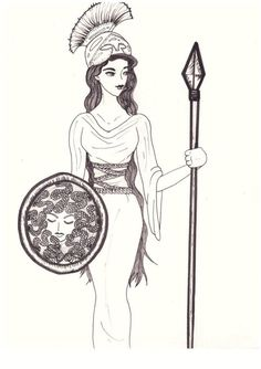 Athena cartoon drawing athena goddess of war and knowledgelovelyhetalia on deviantart Athena Goddess, Senior Home Care, God Pictures, Half Blood, Gods And Goddesses, Ancient Greece, Greek Mythology, Cartoon Drawings, Deities