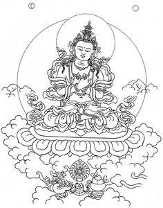 Brief History of the Kagyu School of Tibetan Buddhism Buddhist Symbol Tattoos, Buddhist Symbols, Hindu Tattoos, Buddha Tattoos, Tibet Art, Lotus Tattoo, Tattoo Ink, Arm Tattoo, Sleeve Tattoos